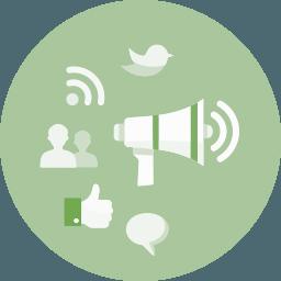 Icon Social Media Advertising
